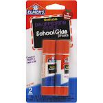 Elmer's School Glue Sticks, Disappearing Purple - 2 pack, 0.21 oz each