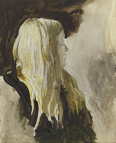 Andrew Wyeth, study for Pageboy