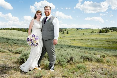 Yellowstone National Park Wedding of Zachary and Elizabeth