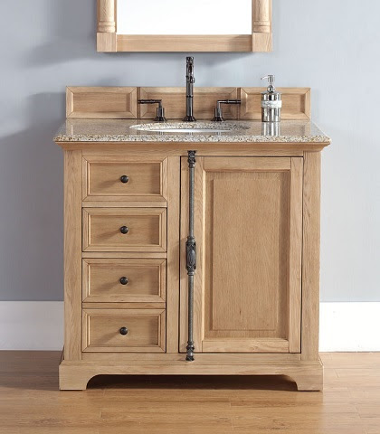 Providence 36 Single Bathroom Vanity In Natural Oak 238 105 5521 from James Martin Furniture