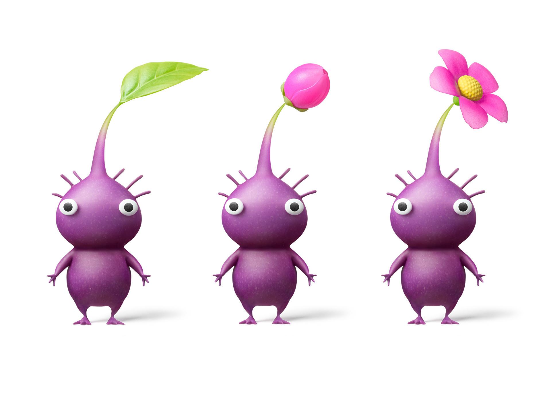 ピクミン3 新しいイラストが公開 白ピクミンや紫ピクミンも Gawin