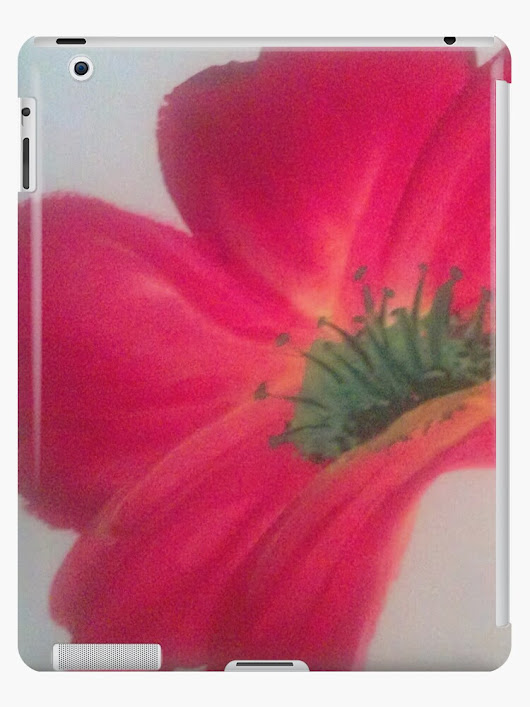 'Poppy 4' iPad Case/Skin by CCWillow