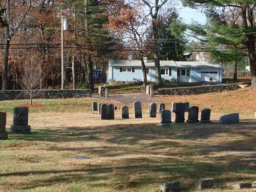 Old Entrance to Wilson Farm Cemetery by midgefrazel