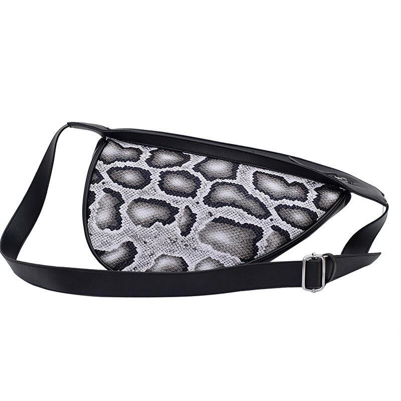Discount Designer Women's Waist Bag Half Moon PU leather Chain Fanny Pack Bananka Bag on A Belt  Wild Satchel Women Belly Band Belt Bag