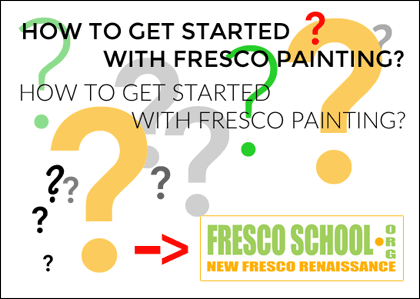 How to get started with fresco painting? - iLia Fresco (Anossov) | artist
