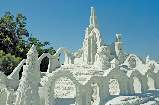 Annual Sandsculpting Championship is Amazing Art - Sun Palace Vacation Homes
