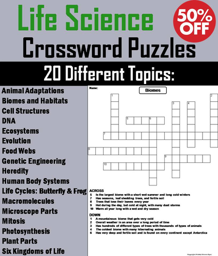 Science Microscope Crossword Puzzle Answers - Micropedia