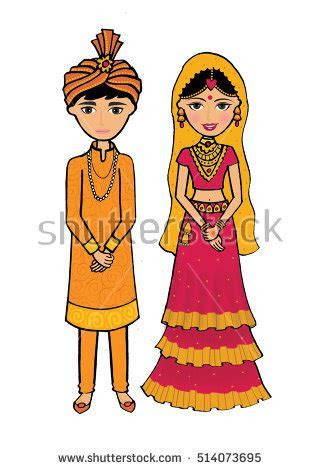 indian bride and groom clipart   Clipground