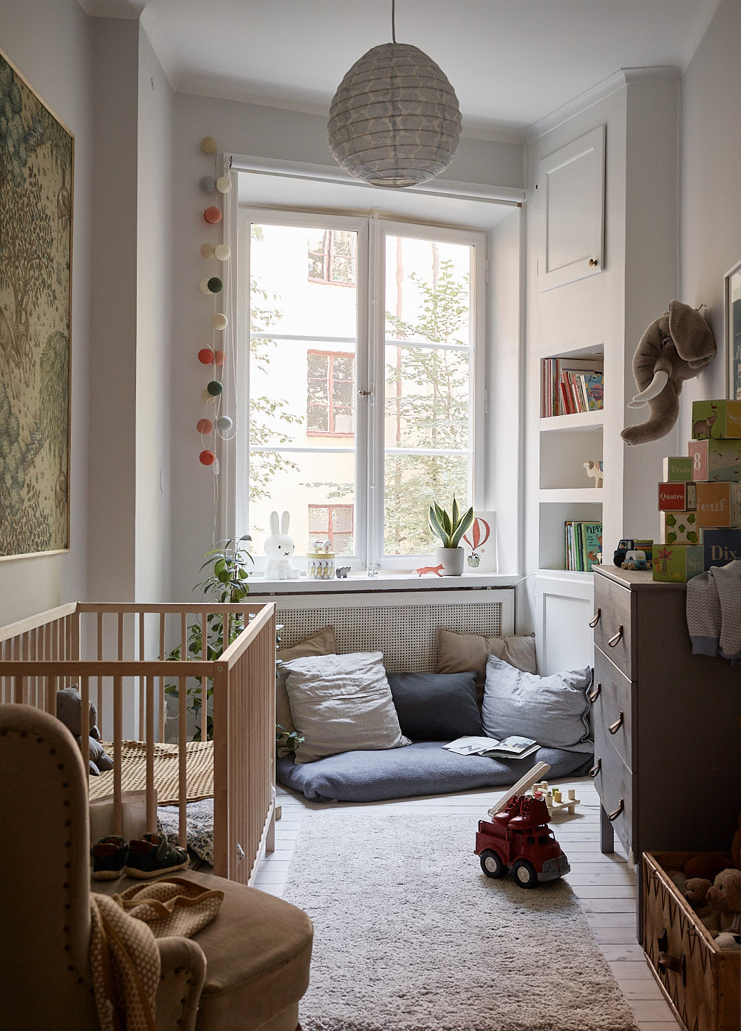 A light filled family home in Stockholm