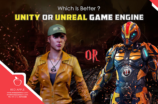 Unity Vs. Unreal Game Engine: Which One is Better for Game Development?