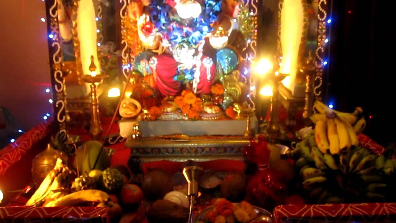 Home  decoration  of ganpati  2011 by nilesh sony chaitanya