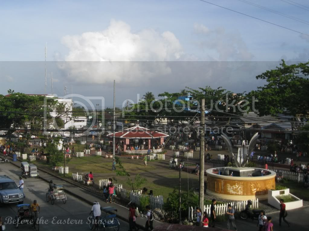 City park of Tabaco, Bicolandia