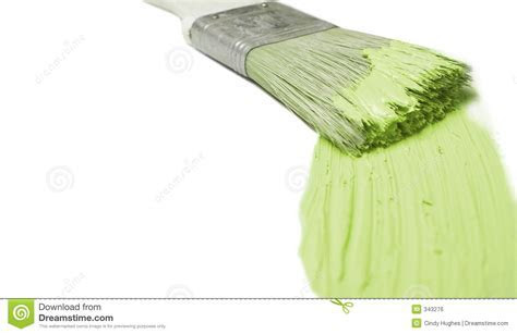 Green Paint Stroke Royalty Free Stock Image   Image: 343276