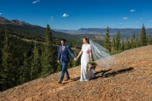 Breckenridge TenMile Station Wedding   Amye and Sam