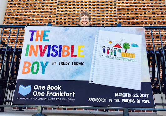 THE INVISIBLE BOY Promotes Kindness in Kentucky's One Book One Frankfort for Children Project - Penguin Random House Common Reads