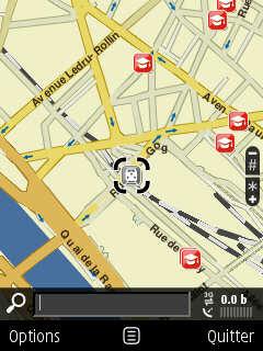 Gare de Lyon sur Nokia Maps