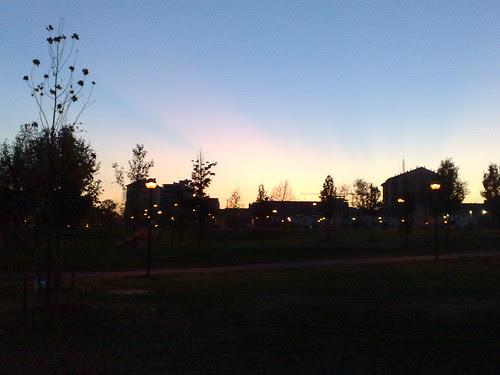 Chiaro tramonto d'autunno by durishti
