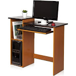 Furinno Econ Multipurpose Computer Writing Desk, Brown