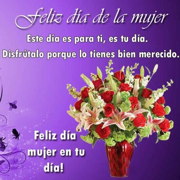 Lindas Imagenes Del Dia De La Mujer Para Facebook Imagenes De Puro