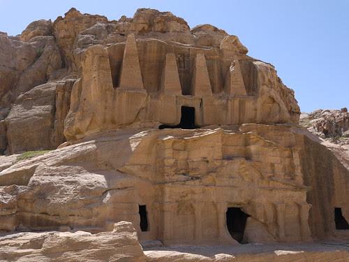 Petra, Jordan, April 2013 by Yekkes