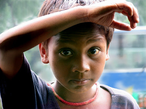 Boy thru the window, Dhaka