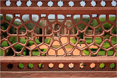 Indian ornament, Humayun's Tomb, Delhi