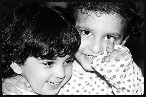 Nerjis And Zinnia  The Future  In A Frame by firoze shakir photographerno1