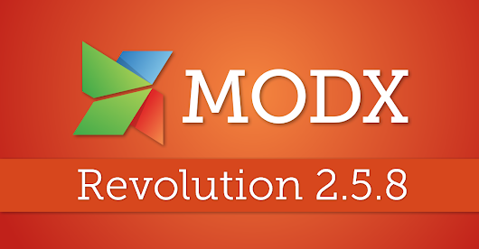 MODX Revolution 2.5.8—A little more secure