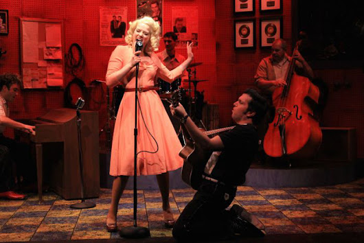 Great balls of fire! MILLION DOLLAR QUARTET delivers early rock's raw energy