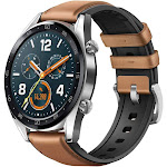 Huawei Watch GT GPS Smartwatch (Saddle Brown) 55023263