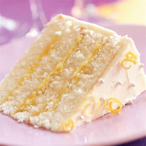 Triple Lemon Layer Cake Recipe   Recipe   FineCooking