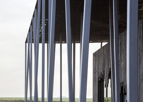 Stonehenge Visitor Centre by Denton Corker Marshall