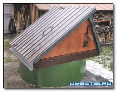 Делаем домик для колодца: чтоб колодец не замерз