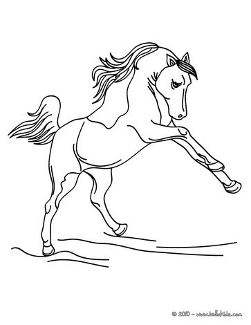 alphabet coloring sheets free printable horse coloring