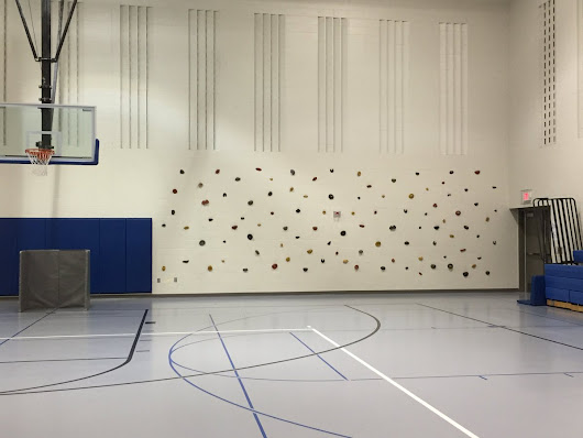 "Kristin M on Twitter: "".@edtechteam @djakes @JoeyFeith Our Ss love the climbing wall in our gym! #Inspiringspace #InspiringSpaces #physed """