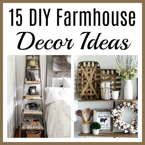 15 Thrifty And Chic Diy Home Decorating Ideas: Manuela Williams
