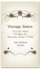 BCS-1127 - salon business card