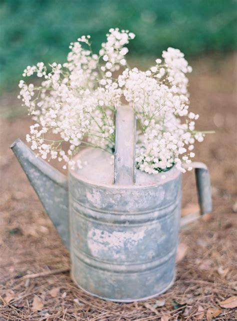 Top 15 Rustic Country Watering can Wedding Ideas   Deer