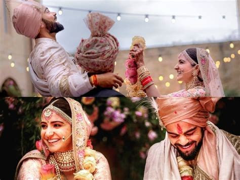 87 Pics of Anushka Sharma and Virat Kohli Wedding   Mojly