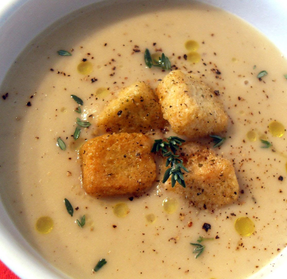Parsnip, Apple and Thyme Soup