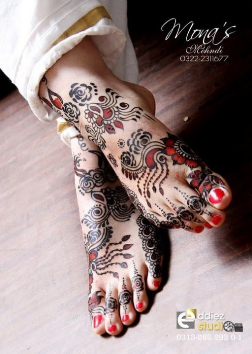 Beautiful-Indian-Bridal-Wedding-New-Mehndi-Designs-Photos-Embroidery-Dulhan-Feet-Mehndi-9