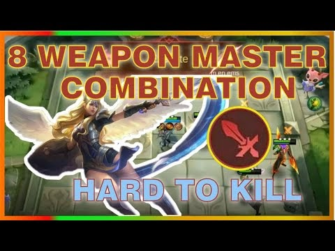 8 WEAPON MASTER WITH SABER 101% HARD TO KILL | TOP GLOBAL Magic Chess Strategy | MRL GAMING