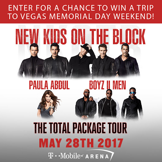 New Kids On The Block Flyaway Sweepstakes