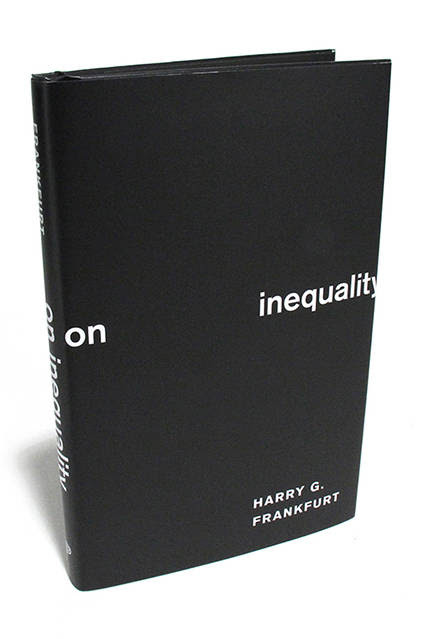 ON INEQUALITY - by Harry G. Frankfurt