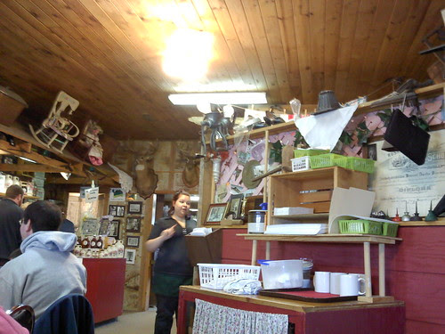 Inside Moore's Sugar Shack