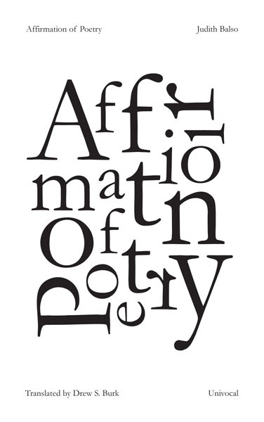 affirmation of poetry balso