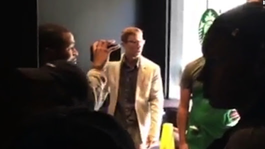 'Shut up slave': Man goes on racist rant at Starbucks