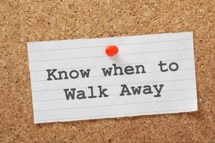 When You Know It's Time to Walk Away From a Difficult Situation | Presenting Yourself and more . . .