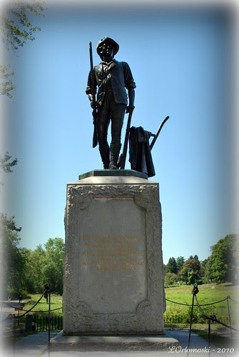Concord Minute Man Statue at the North Bridge