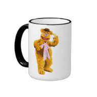 Muppets Fozzie Bear standing holding banana Disney Mugs